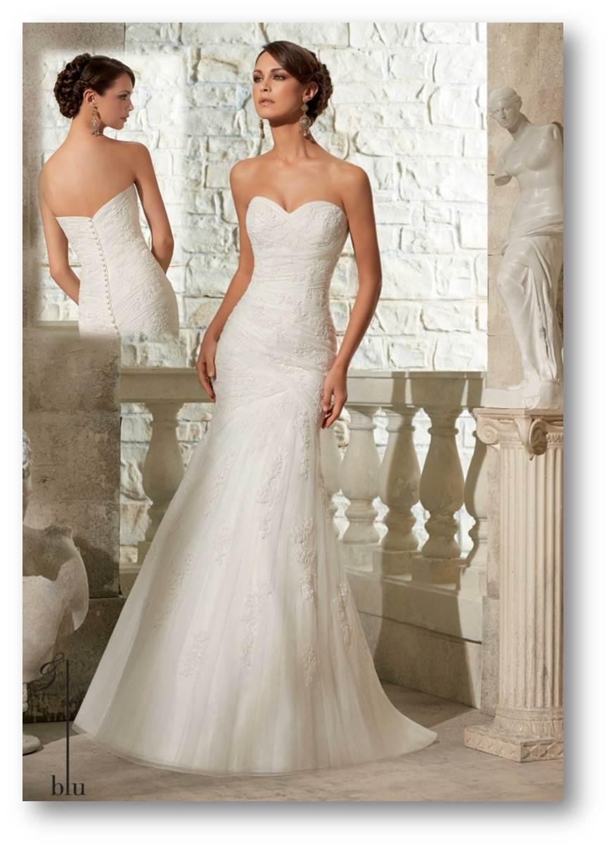 vestido de novia talla 6